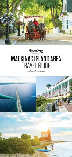 A ferry ride beyond the history-rich tip of Michigan's lower peninsula, the famously Victorian and car-free Mackinac Island continues to lure generations of travelers. See our trip guide for ideas on what to do, where to eat and where to stay.