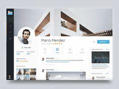 UI Movement - The best UI design inspiration, every day. Dashboard Design, Web Dashboard, Best Ui Design, Ui Ux Design, Page Design, Graphic Design, Cv Website, Profile Website, Website Ideas