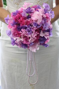 My Paw Parker always called me Sweet Pea. In honor of him I am going to carry a wedding bouquet of sweet peas when I get married.