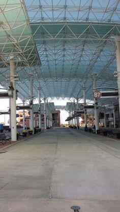 Bus station on Commerce Street