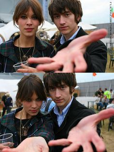 Alexa Chung and Alex turner are the perfect couple Alex Turner, Alex Alexa, Alex Love, Alexa Chung Style, The Last Shadow Puppets, Jamie Campbell Bower, Perfect Couple, Arctic Monkeys, Indie Music
