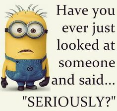 Funny Minion Pictures Below are some very funny minions memes, and funny quotes, i hope you will enjoy them at your best . and why not whatever minions do they always look funny and stupid . So make sure to share the best minions with your friends . Funny Minion Pictures, Funny Minion Memes, Minions Quotes, Minion Humor, Minion Stuff, Funny Pics, Minion Things, Minion Face, Humorous Pictures