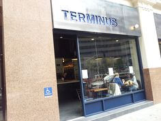 Cafe Terminus, San Francisco, CA Great place to meet after getting off BART