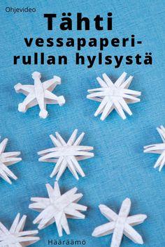 Ohjevideo: Tee tähti vessapaperirullan hylsystä