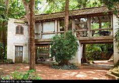 Lunuganga Estate of Geoffrey Bawa, 20th century Tropical Modernism and Minimalism architect, Sri Lanka, Asia