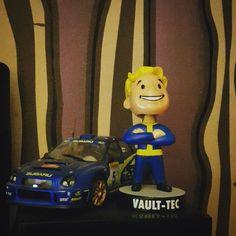 #fallout #fallout4 #amibo  #subaruimpreza #wrx #videogame #psxextreme  #cdaction #gamespot #gametrailers #xbox #playstation #pcgaming  #vault  #vaultec by bartek_amg