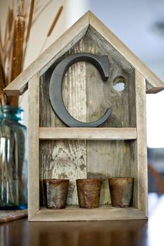 Reclaimed Barnwood Shelf by debstudio22 on Etsy, $35.00