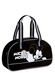 Viileän tyylikäs Mikki-laukku sopii moneen menoon! Se on juuri passelin kokoinen veska niin shoppailuun kuin koulukäyttöönkin. Kanna laukkua mielesi mukaan joko olkapäällä tai käsivarrella. Koko noin 42 x 25 x 13 cm. Sisäpuolella vetoketjullinen pikkutasku. Joko, Donald Duck, Mickey Mouse, Frozen, Tote Bag, Bags, Handbags, Michey Mouse, Carry Bag