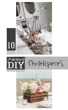 10 Amazing DIY Centerpieces