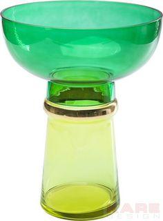 Vase Orient Green-Yellow #kare #design #wien #Austria #grün #green #Vase #kareaustria #karedesign