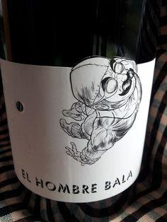 El Hombre Bala 2012 - DO Vinos de Madrid  - Bodegas Comando G - Vino joven con crianza de 10 meses en barricas de roble frances - Garnacha Tinta - 14º - 92 PARKER/94 PEÑIN