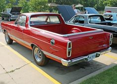 1967 Ford Fairlane XL Ranchero.  I wanted one of these so bad in '67. There was a new one on the showroom floor at Ted Arendale Ford in Arlington,  TX.  I was a Sophomore in High School.  It was red with black bucket seats and a Hurst 4 speed and a 428 engine.