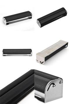 [Visit to Buy] 1pc 110MM metal rolling machine for kingsize paper case Tobacco Roller Cigarette Maker Rolling Injector rolling machine case #Advertisement