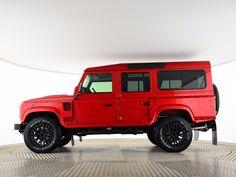 Land Rover Defender 110 Td4 Sw Se. Brilliant Red.