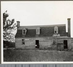 House on Solomon's Island Road, Calvert County :: Views of African American Life in Maryland - Enoch Pratt Free Library