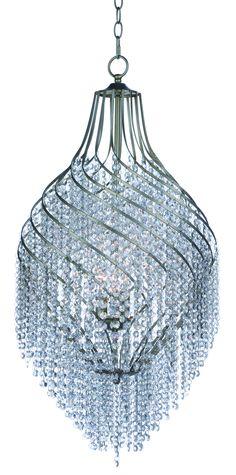 Maxim 22007 Twirl 3 Light Wide Pendant with Crystal Accents Shade Golden Silver Indoor Lighting Pendants Rectangle Chandelier, Silver Chandelier, Chandelier Shades, Chandelier Lighting, 3 Light Pendant, Lantern Pendant, Wagon Wheel Chandelier, Glass Pendants, Island Pendants