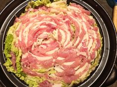 You cannot go through a Japanese winter without eating hotpots. A hotpot is not only enjoying your hot food, but we also My Favorite Food, Favorite Recipes, Napa Cabbage, Chinese Cabbage, Japanese Food, Pork, Stuffed Peppers, Homemade, Dishes