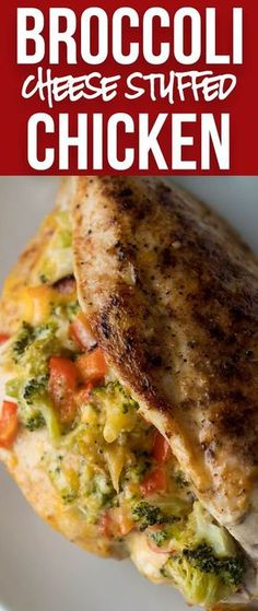 My husband and kids LOVED this super easy dinner recipe! Broccoli Cheese Stuffed Chicken Breast is going in my normal menu rotation!