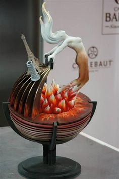 #WCM World Chocolate Masters - Day 2 - Bonbons & Entremets - Italy