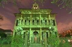 Kirkpatrick House - New Orleans,  - LOUISIANA l Anne Rice has owned several homes in New Orleans including this beauty at 3711 Saint Charles Ave.
