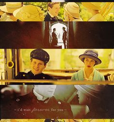 All the best moments - Sybil and Branson Downton abbey