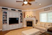 Family Room - 3500 square foot Country Home