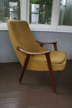 Danish Chair Upholstery by anne ingman, via Flickr