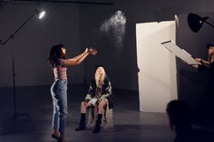 Behind The Scenes Of Our Night Magic Photo Shoot | Free People Blog #freepeople