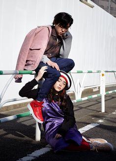 吉村界人とモトーラ世理奈の「AIR FORCE 1でつながるふたり」 - NYLON JAPAN