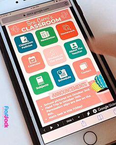 Teacher Organization, Teacher Hacks, Google Calendar, Parent Teacher Communication, Smart Class, Professor, Parents As Teachers, Beginning Of School, Weekly Newsletter