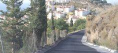Camino Almenara junto a la urbanización Fuentes de Almuñécar