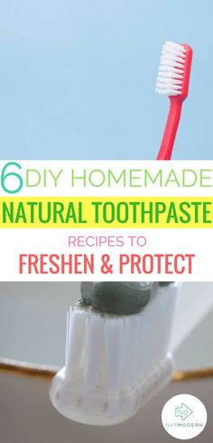 natural toothpaste recipes #natural #healthy #toothpaste #diy #homemade