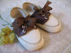 Vintage Baby Oxfords by beautifulliving on Etsy, $13.95