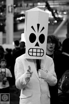 Ask me about Grim Fandango  Manny Calavera/Grim Fandango cosplay.