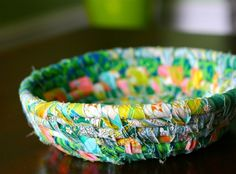 Scrap-busting Fabric Bowl | Pretty Prudent