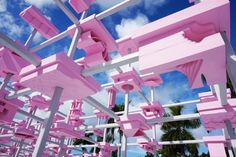 UNBUILT pavilion by Harvard GSD at Desig Miami » Retail Design Blog