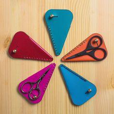 Leather Scissor Case Small