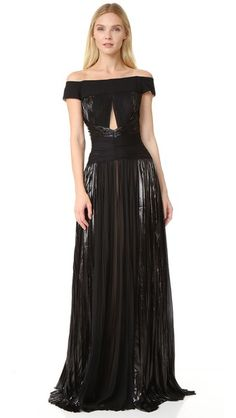 J. Mendel Off the Shoulder Gown   $5,900.00