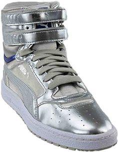 d2837f68c7d7b Puma Women's Sky II Hi Explosive Gray Violet nan 363374 03 Size nan. Best  Basketball Shoes