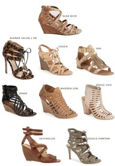 Summer Shoes: Caged In