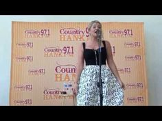 Lauren Alaina Visited Hank FM Studio Indianapolis IN July