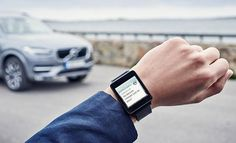Volvo's On Call app can control your car from a smartwatch http://engt.co/1JhXTyq