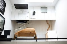 Desk to match the floorboards Natasja Molenaar Ontwerpbureau