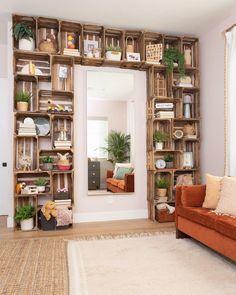 Living Room Decor, Bedroom Decor, Diy Furniture, Furniture Storage, Home Projects, Easy Diy Projects, Home Interior Design, Home Design Decor, Diy Home Decor