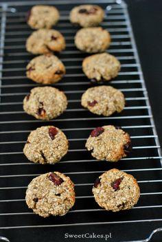Ciasteczka owsiane (bez mąki, jajek i tłuszczu) 3 Ingredient Healthy Oatmeal Cookies