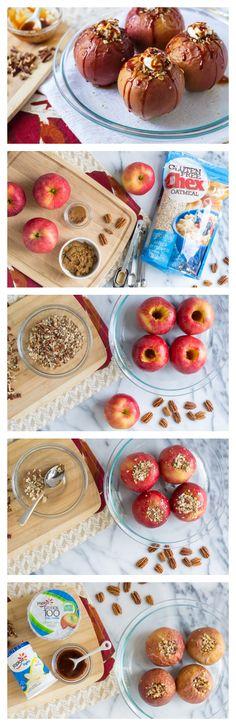 Streusel Filled Baked Apples