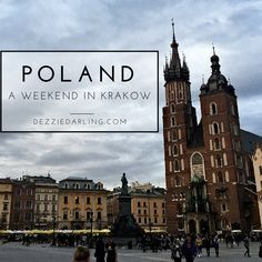 This weekend was an incredible trip to Poland, visiting Krakow and Auschwitz. By far, this has been the most informative and touching trip of the semester. Oh The Places You'll Go, Places To Travel, Places To Visit, Eurotrip, Visit Krakow, Travel Around The World, Around The Worlds, World Youth Day, Berlin