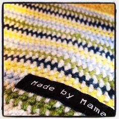 Just finished a blanket for my baby boy, expected arrival next week.