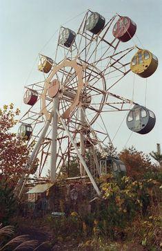 Abandoned amusement park: Takakanonuma Greenland, Hobara, Fukushima prefecture, Japan