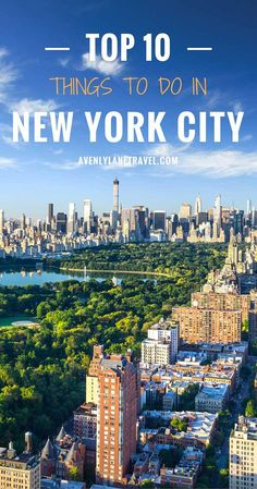 "New York City is a city that is so iconic, you really don't have to introduce it. It is affectionately called ""The Big Apple"", is the largest city in the USA, and is one of the world's financial and cultural centers. Have you been to the 10 most iconic places in NYC?"